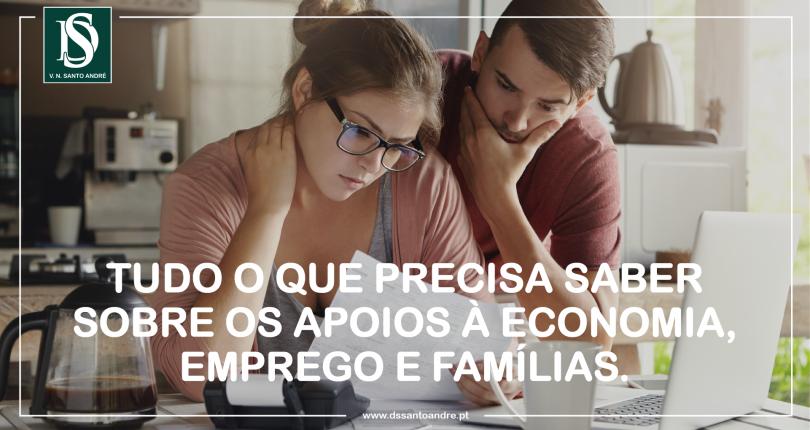 Tudo o que precisa saber sobre os apoios à economia, emprego e famílias